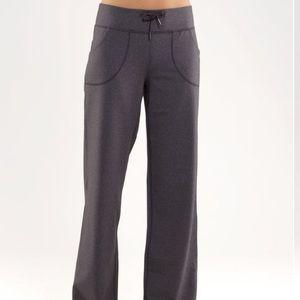 Lululemon   still yoga pants-wide leg joggers